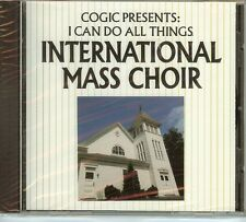 INTERNATIONAL MASS CHOIR - I CAN DO ALL THINGS - CD - NEW