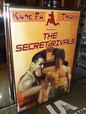 The Secret Rivals (DVD) JohnLiu, Hwang Jang Lee, Wong Tao, BRAND NEW!