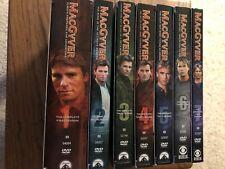 MacGyver Seasons 1-7 Almost Brand New!