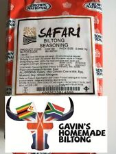 Safari Biltong Spice Seasoning 2 KG Crown National South African - CHEAPEST!