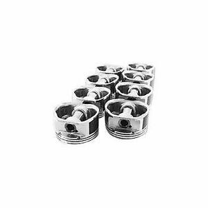 "Ford 289/302 Enginetech Piston Set P1501(8)030; 4.000"" Bore Flat Top  SB FORD"