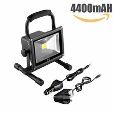 LE 20W Rechargeable Portable LED Work Light 100W Halogen Equiv 1400lm Waterproof