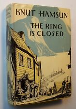 THE RING IS CLOSED Knut Hamsun HC/DJ 1937 Translated from Norwegian Gay-Tifft -9