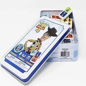 Disney Pixar Toy Story 4 Dominoes Tin Game