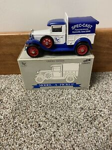 Liberty Classics 1/25 Scale Ford Model A Pickup Truck Ltd Edition Coin Bank