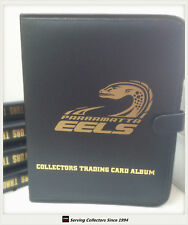 NRL CLUB Collectors Trading Card 3-Ring Album ( Inc. 10 pages)-PARRAMATTA EELS