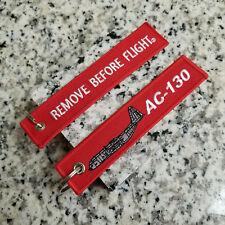 AC-130 Gunship Remove Before Flight ® Keychain, Tag, Streamer!