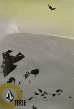 VOLCOM snowboard 2004 TERJE HAAKONSEN snowboard poster Flawless New Old Stock