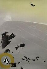 VOLCOM snowboard 2004 TERJE HAAKONSEN snowboard poster ~NEW~&~MINT~!!