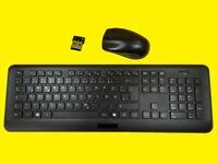 Design Funktastatur mit Funkmaus/Reichweite bis zu 5 m/USB-Empfänger/2,4
