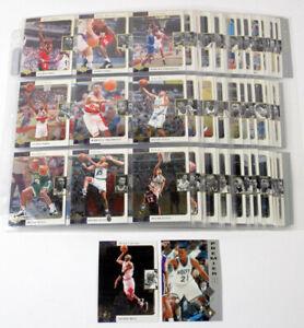1995-96 SP Complete Basketball Set in Sheets (1-167) Kevin Garnett RC Jordan
