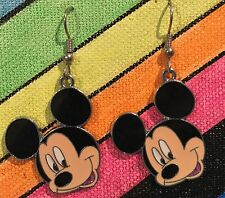 Mickey Smile Earrings Disney Surgical New