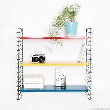 Coloured Tomado String Wall Bookshelf Shelf Shelving Metal Midcentury 1960