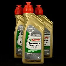 3l CASTROL syntrans transaxle 75w-90 1 litres boutons huile, vw g052911/50150