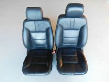 Mercedes Benz M Class ML350 2010 W164 Black Power Front Seats Pair J108