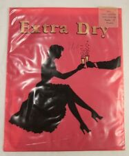 Vintage French Extra Dry Stockings Bas Sans Couture Size 2 Airelle