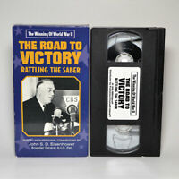 The Road to Victory: Rattling the Saber VHS Tape FREE SHIPPING