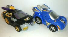 Lot of 2 Vtech Switch N Go Dinos - Mc Roar Giganotosaurus + Horns Triceratops Ln