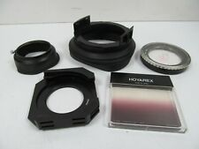 Hoyarex Adapter Rings, Filter & Rubber Collapsible Hood