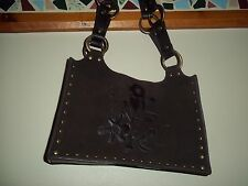 Vtg. Suede Leather Purse/Handbag - by Express