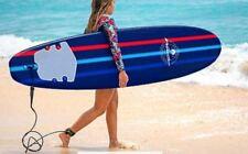 Wavestorm 8ft Classic Surfboard Navy Comp StripeC