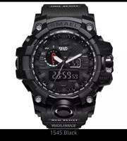 G Shock Style Sports Watches Dual Analog Digital LED smart watch military mens