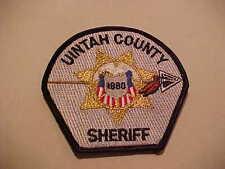 UINTAH COUNTY UTAH POLICE PATCH SHOULDER SIZE