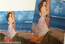 "Celine Dion ""A New Day Has Come"" 2-Sided U.S. Promo Album Poster-Pop Music Diva!"