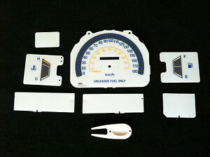 84 85 86 87 88 TOYOTA PICK UP & 4 RUNNER (NO RPM) KM WHITE FACE CLUSTER GAUGES