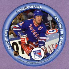 1993 Kraft Mario Lemeiux Pittsburgh Penguins / Mark Messier New York Rangers