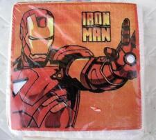 IRON MAN Marvel Party CAKE NAPKINS x50 Heroes Birthday Decoration Supplies Boy