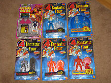 FANTASTIC FOUR - Series 1 1994 Transition of Human Torch and Invisible Woman