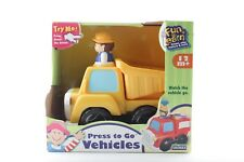 Fun To Learn Unimax Press To Go Vehicle 61065 Dump Truck Toys For Kids Fun Play