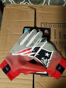 Nike New England Patriots NFL Stadium Gloves Unisex Adult Large L NWT Tom Brady