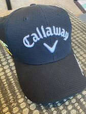 New Callaway Odyssey Golf Tour Authentic Epic Flash Hat Cap Black Adjustable