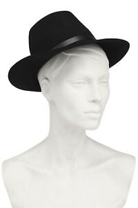 RRP €150 RAG & BONE Wool Felt Fedora Hat Size S Unlined HANDCRAFTED in USA