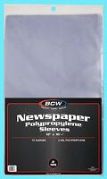 "10 BCW 12X16 NEWSPAPER 2 MIL STORAGE SLEEVES Clear Poly Art Photo Print 12""x16"""