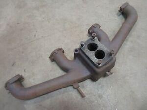1951 Pontiac Chieftain straight eight engine motor intake manifold cast iron