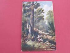 The Prospectors Australian Series Artist Drawn Postcard postally used 1906