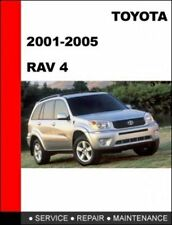 Toyota Rav4 2001-2005 workshop service repair manual cd