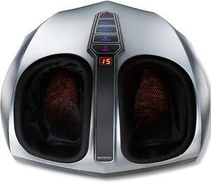 Shiatsu Foot Massager Machine with Heat  Deep Kneading  Therapy   Air Compressi