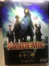 Pandemic Board Game Z-Man Games Cooperative 3-4 Players Matt Leacock