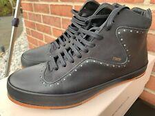 Retail $380 FreeMan PLAT Court Mid FTMITM MEN'S Leather SHOES SIZE 10.5 EUR 43.5