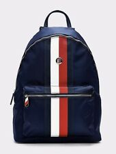 New Women's Tommy Hilfiger signature stripe panel backpack Corporate