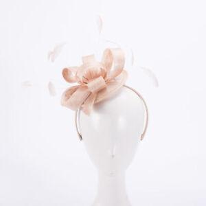 Wedding Church Womens Headpiece Sinamay Kentucky Derby Fascinators Hats X1083
