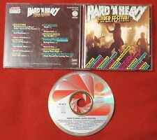 HARD N HEAVY SUPER FESTIVAL 1989 WEST GERMANY CD rare CLUB EDITION Warlock DIO