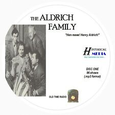 THE ALDRICH FAMILY - 96 Shows Old Time Radio In MP3 Format OTR On 2 CDs