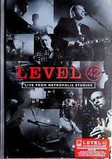 LEVEL 42 * LIVE FROM METROPOLIS STUDIOS * UK SIGNED LTD DELUXE DVD/CD * 500 ONLY
