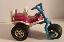 "Vintage TONKA Red Trike Three Wheeler Mini Bike Chopper Motorcycle 1970's USA 5"""