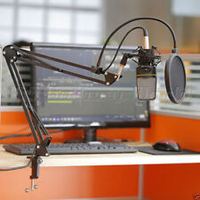 Studio Broadcast Mic Desktop Microphone Suspension Boom Scissor Arm Stand Holder